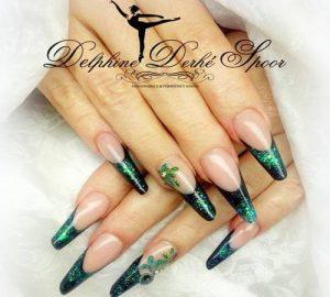 Création styliste ongulaire Delphine Derhé Spoor structure ongles