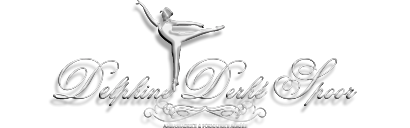 Nail Art Delphine Derhé Spoor - logo pour fond noir