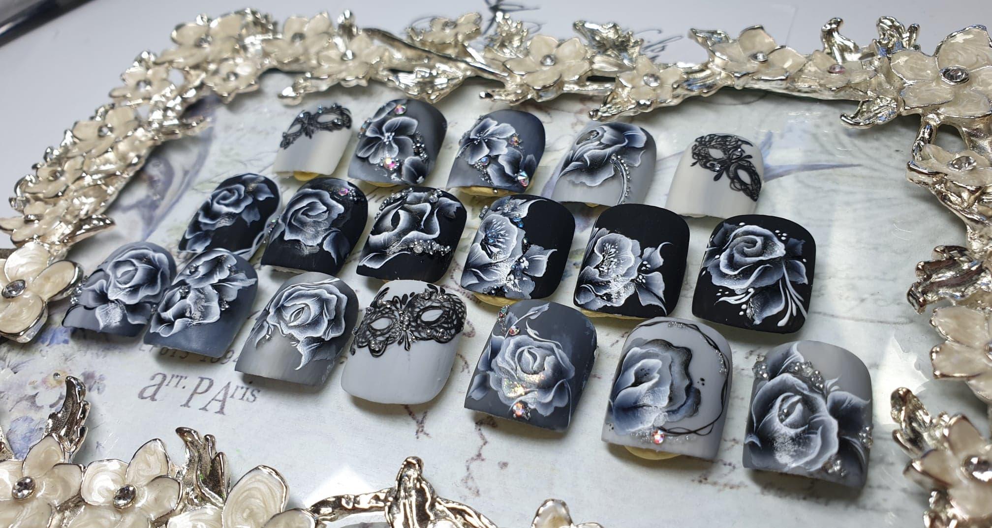 50 nuances de gris - formation nail art